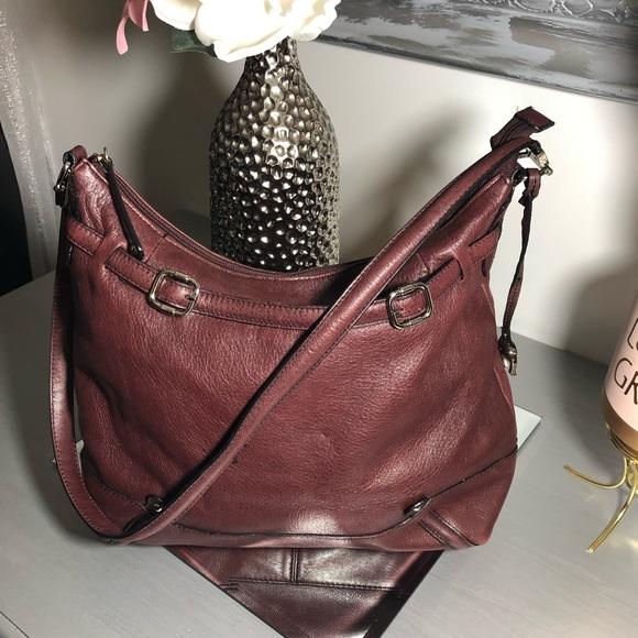 Etienne Aigner Handbags - Etienne Aigner Leather Handbags Burgundy
